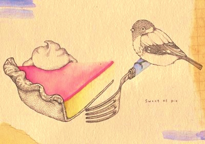 bird and cake_hirondellina