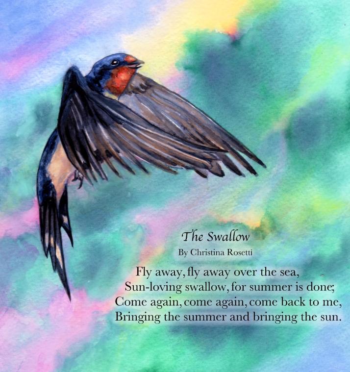 poème hirondellina