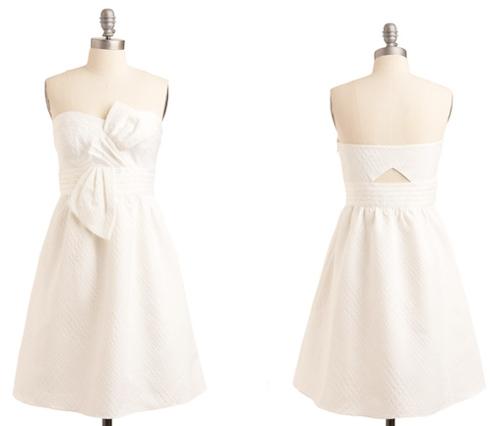 robe blanche hirondellina