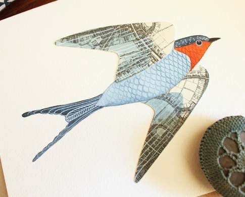 swallow paper
