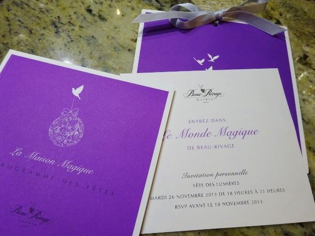 invitation hirondellina